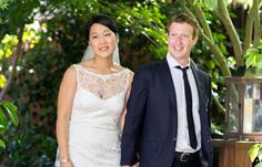 Facebook's Mark Zuckerberg marries longtime girlfriend Priscilla Chan.