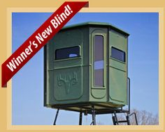 Searching for deer stands or deer hunting blinds? Redneck Blinds has for sale whatever your hunting equipment demands.