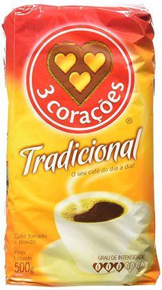 3 Corações Traditional Coffee 500 Grams  Price:$7.60 ($0.02 / gram)