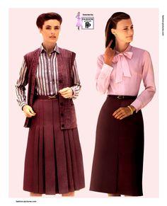 silk blouse 1980