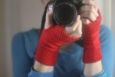 WORKSHELTER Hand Warmers Knitting Pattern by thesweatshopoflove, $2.00