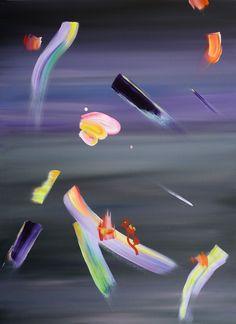 Justyna Pennards-Sycz, Japan 5, mixed media on canvas, 120 x 90, 2013