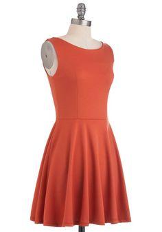 Tangerine Martini Dress, #ModCloth Not bad.