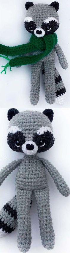 Amigurumi Autumn Raccoon