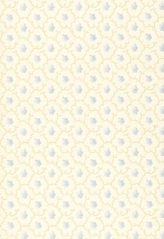Wallcovering / Wallpaper | Coral Leaf in Blue | Schumacher