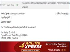 """""""I WORK FROM HOME less than 10 minutes and I manage to cover my LOW SALARY INCOME. If you are a PASSIVE INCOME SEEKER, then AdClickXpress (Ad Click Xpress) is the best ONLINE OPPORTUNITY for you  And many more earnings with AdclickXpress like  GET RICH POSTING YOUR PAYOUT PROOFS AND GET REWARDS... For more details dial +917814549263 :-  http://www.adclickxpress.com/?r=5h8vqhabpgph&p=mx"""