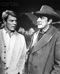 James Arness and real life brother actor Peter Graves