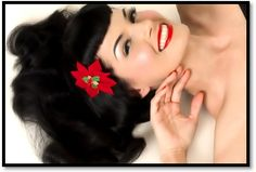 50's pin up makeup!