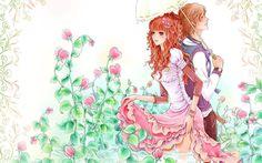 Cute anime couple