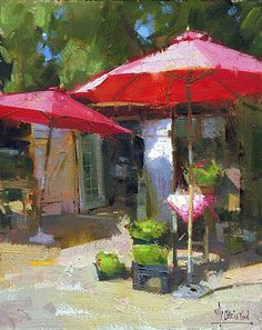 Prelude to Summer by Jennifer McChristian Oil ~ 10 x 8