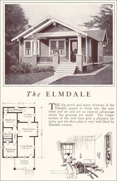 1922 Lewis Homes Of Character   The Elmdale