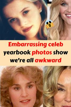 Embarrassing celeb yearbook photos show we're all awkward Videos Funny, Funny Memes, Hilarious, Celebrity Yearbook Photos, Best Butt Lifting Exercises, Really Funny Pictures, Fashion Fail, Cute Girl Wallpaper, Good Jokes