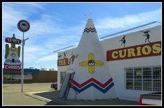 Tee Pee Curios in Tucumcari, NM in historic Route 66