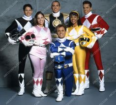 Karan Ashley David Yost Amy Jo Johnson Steve Cardenas Mighty Morphin Power Rangers 35m-6662