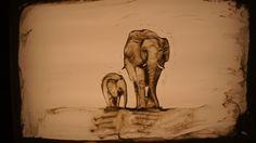 Sand Drawing, Sand Art, Drawings, Sketch, Portrait, Drawing, Resim, Paintings, Doodle