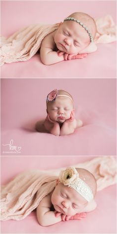 8 tips for taking epic photos of your newborn baby sleeping newborn baby girl pink and cream solutioingenieria Images