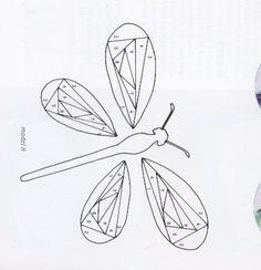 iris folding - Page 4 Origami Patterns, Paper Piecing Patterns, Patchwork Patterns, Card Patterns, Quilt Patterns, Iris Folding Templates, Iris Paper Folding, Iris Folding Pattern, Pliage D'iris