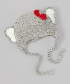 Elephant Earflap Beanie