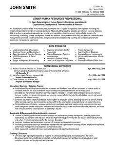 Free Resume Templates Human Resources Freeresumetemplates Executive