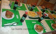 """La buona cucina di Katty: """"Soccer Party"""" per tutti gli appassionati di calcio!"""