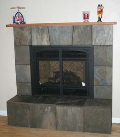 Split Face Stone Fireplace Copper Rust Slate Fireplace Stacked Ledge Stone Kitchen Remodel