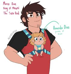 Awe it can see MARCO being a great responsible dad. Even after song how he was with buff frogs babies