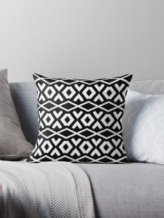 Black and White, aztec ethnic pattern, Geometrical Seamless Pattern, Black-White Tribal Background, Black Aztec. • Millions of unique designs by independent artists. Find your thing.