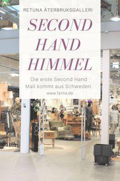 We visited the world& first second hand shopping mall in Sweden! Second Hand Husband, Second Hand Shop, First Second, Second Hand Clothes, Second Hand Fashion, Vinyl Blinds, Cellular Blinds, Aluminum Blinds, Decorating Bookshelves
