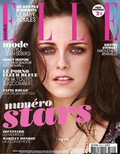 #KristinStewart on the cover of #ElleFrance in #heathergardner Boho Turquoise Tusk Necklace
