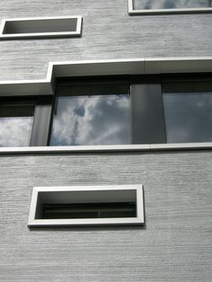 Domain Default page Cement Design, Stucco Exterior, Social Housing, Beach Bungalows, Facade Design, Window Design, Ranch Style, Textured Walls, Cladding