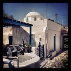 #paros #paroikia #blue_and_white #lovely #house #church 2013