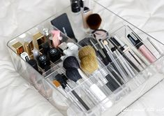 makeup organization - via Tranquilacosita