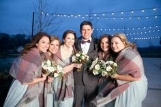 Winter wedding photos - love this look.  From Meredith + Justin's wedding at Mint Springs Farm; Nolensville, Tennessee.  Photo by Krista Lee www.kristaleephotography.com