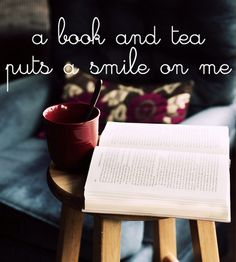 Book and tea!!!!