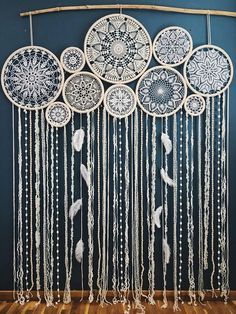 Dream catcher wall hanging, boho chic decor, giant dream catcher, large dreamcatcher, wedding dreamcatcher – Diy Home Crafts Grand Dream Catcher, Dream Catcher Wedding, Big Dream Catchers, Large Dream Catcher, Dream Catcher Boho, Doily Dream Catchers, Dream Catcher Decor, Dream Catcher Bedroom, Dream Bedroom