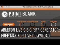 Max For Live: Big Riff Generator