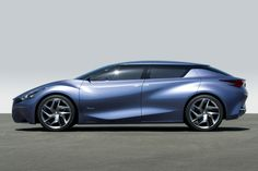 The Nissan Friend-ME concept car