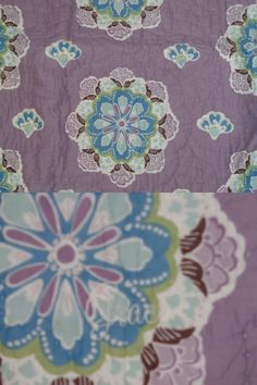 Pillowcases and Shams 124327: New Pottery Barn Brooklyn Monogram Grace Purple Nursery Crib Quilt -> BUY IT NOW ONLY: $109.95 on eBay!