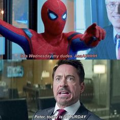 Funny Marvel Memes, Marvel Jokes, Dc Memes, Avengers Memes, Marvel Vs, Marvel Comics, Tom Holland Peter Parker, The Avengers, Superfamily