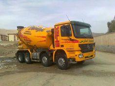 Mercedes-Benz concrete mixer Heavy Construction Equipment, Construction Machines, Heavy Equipment, Types Of Concrete, Mix Concrete, Oil Platform, Mixer Truck, Oil Tanker, Concrete Mixers
