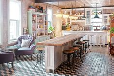 vintage pantry | Aires vintage en el Soho House Club de New York. | DECORLIVING