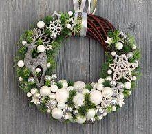 Zobacz zdjęcie wianek świąteczny decofleur.com.pl