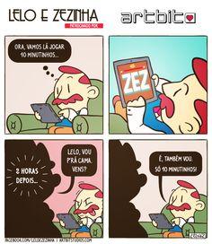 Lelo e Zezinha 017 A Artbit Studios é uma produtora de videojogos portuense. O seu mais recente jogo, ZEZ Rise, está disponível para iOS (iPhone/iPad), Android, e Windows Phone. Podem descarregá-lo em www.zezgame.com