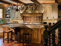 Captivating Country Kitchen Design