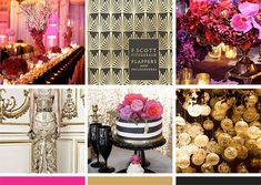 glamorous_pink_gold_black_wedding_with_deco_charm