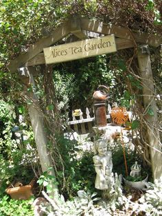 Alice's Tea Garden - Cambria, CA