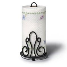 Softly curving details offer a pretty polish to the Spectrum Diversified Patrice Paper Towel Holder . Sturdy steel construction lends durability to. Paper Towel Rolls, Paper Towel Holder, Towel Holders, Paper Towels, Napkin Holders, Plate Holder, Wall Organization, Bronze Finish, Blacksmithing