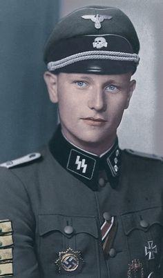 Waffen SS soldier.