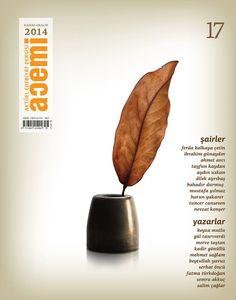 Acemi edebiyat dergisi kapak tasarımı sayı 17
