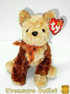 FIDGET the Dog Terrier TY Beanie Baby